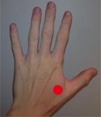 akupunkturpunktet Hegu