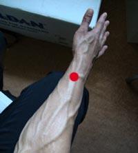 akupunkturpunktet Lieque