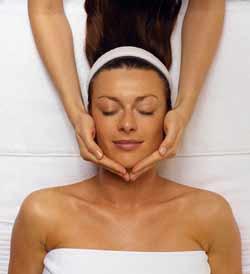 Ansigtsbehandling og ansigtsmassage