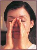 Ansigtsmassage trin 4