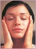 Ansigtsmassage trin 5