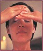 ansigtsmassage trin 9