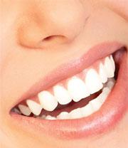 bagepulver på tænder