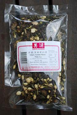 Her ses Ingefær-te