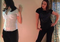 Kropssprog hos to kvinder