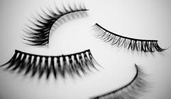 Kunstige øjenvipper - varianter