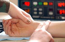 En normal puls er det samme som en hvilepuls