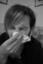 Her ses sår i næsen