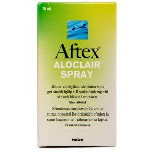 Aftex Aloclair Spray - 15 ml