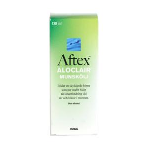 Aftex Aloclair mundskyl - 120 ml