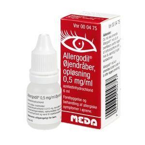 Allergodil øjendråber 0,05% - 6 ml