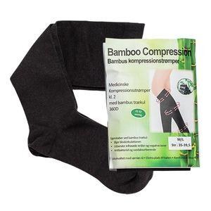 Bamboo Pro kompressionsstrømper - 1 par