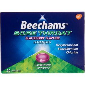 Beechams Max Brombær - 20 Sugetabletter