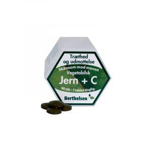 Berthelsen Jern + C-Vitamin - 90 Tabletter