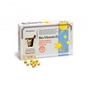 D-vitaminer i mad - Tabel over fødevarer