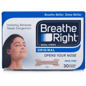 Breathe Right - 30 Strips