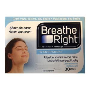 Breathe Right Næsestrips - 30 stk.
