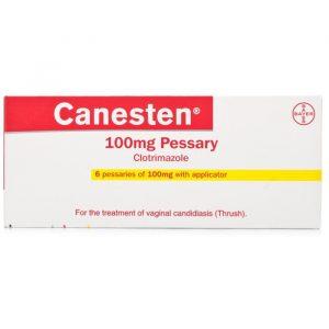 Canesten Vaginaltablet - 6 Doseringer - 100 mg