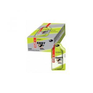 Clif Bar Shot Gel Citrus Koffein - 24x34 Gram