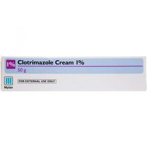 Clotrimazol 1% Creme - 1 % - 50 Gram