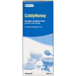 Coldy Honey Hostesaft Medicinsk udstyr 200 ml