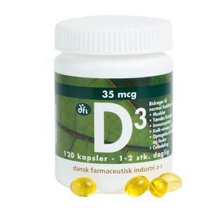 D-Vitamin 35mcg - 120 stk