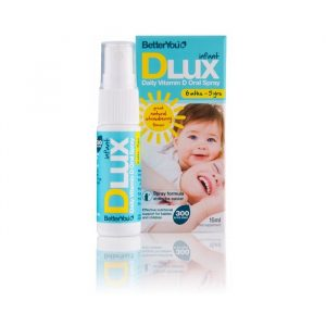 D3 Vitamin Spray til Småbørn (D Lux) fra BetterYou - 7.5 mcg - 15 ml