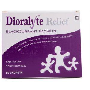 Dioralyte Relief Breve med solbær - 20 Breve