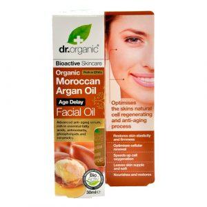 Dr. Organic Facial Serum Argan 30 ml
