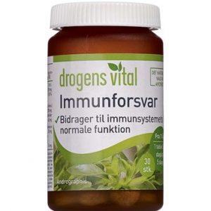 Drogens Vital Immunforsvar 30 stk