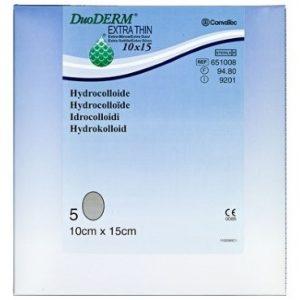 Duoderm Extra Tynd 15 x 10 cm Medicinsk udstyr 5 stk