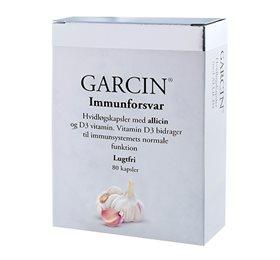 Garcin Hvidløg m. D3 vitamin (80kap)