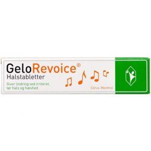 Gelorevoice halstabl. citrus Medicinsk udstyr 20 mentholst