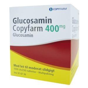 Glucosamin Copyfarm 400 mg - 4x250 tabl