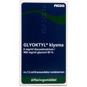 Glyoktyl Klysma - 4 x 7.5 ml