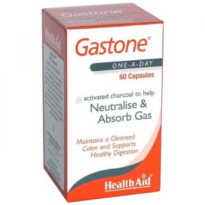 HealthAid Aktivt Kul - 260 mg - 60 Kapsler