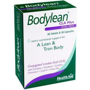 HealthAid Bodylean CLA Plus - 30 Kapsler - 30 Tabletter