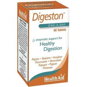HealthAid Fordøjelsesenzymer - 60 Tabletter