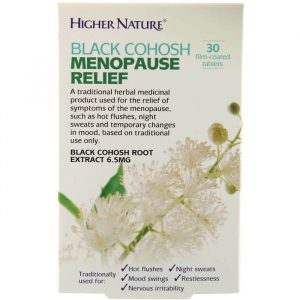 Higher Nature Black Cohosh Menopause Relief - 30 Kapsler