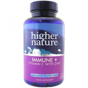 Higher Nature Immune + - 180 Tabletter