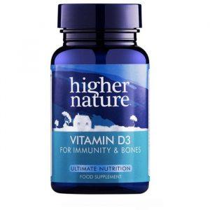 Higher Nature Vitamin D3 - 120 Kapsler