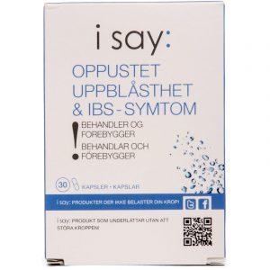 I Say: Oppustet - 30 Kapsler