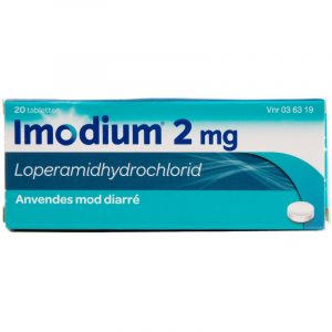 Imodium Mod Diarre - 2 mg - 20 Tabletter