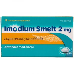 Imodium Smelt - 2 mg - 12 Tabletter