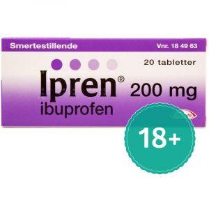 Ipren - 200 mg - 20 Tabletter