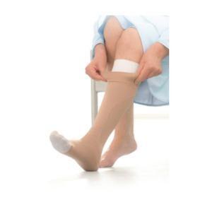 Jobst Ulcercare Behandlerstrømpe 2-i-1, Beige