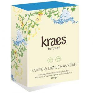 Kraes babybad - havre & dødehavssalt - 200 gr