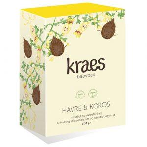 Kraes babybad - havre & kokos - 200 g