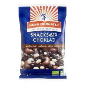 Kung Markatta Snack mix med chokolade 50 g
