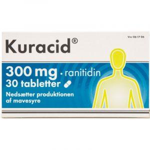 Kuracid - 300 mg - 30 Tabletter